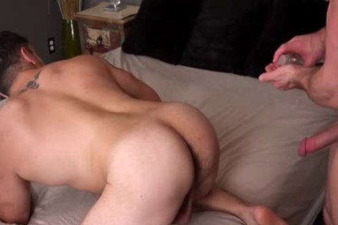 Muscle gay a bit of wazoo And cumshot