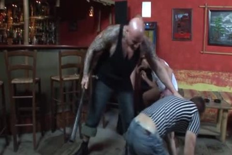 Skinheads Do Some plowing
