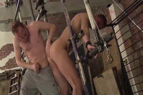 Experienced Sean Taylor Taking Run train stiff At A painfully bdsm Session And thrashing