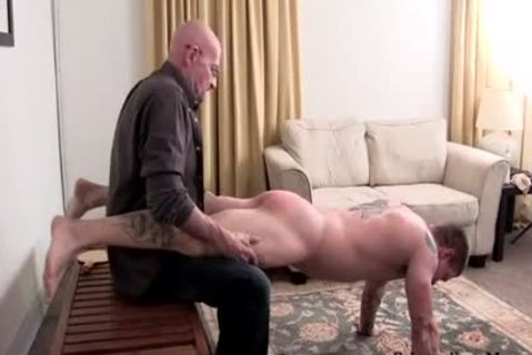 Muscle non-professional thrashing With cumshot
