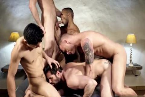 filthy homosexual double penetration With cumshot