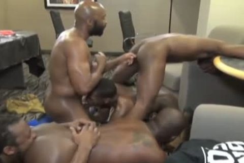 black unprotected orgy